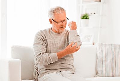 Problemas articulares en las personas mayores